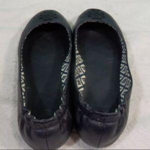 Tory Burch Shoes - Tory Burch flats 7 (navy)